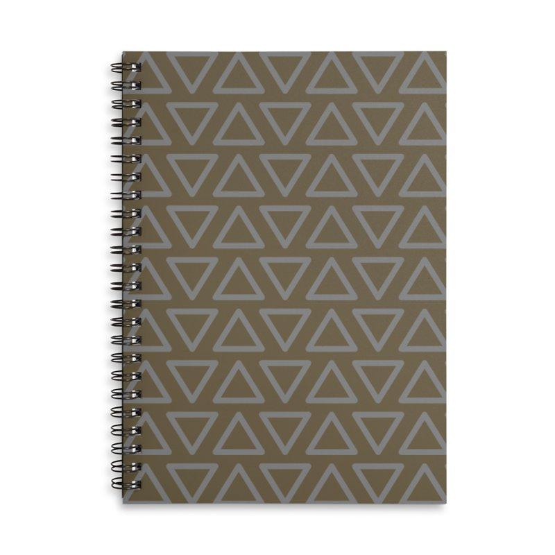 Trokutan (Green) Accessories Notebook by trebam
