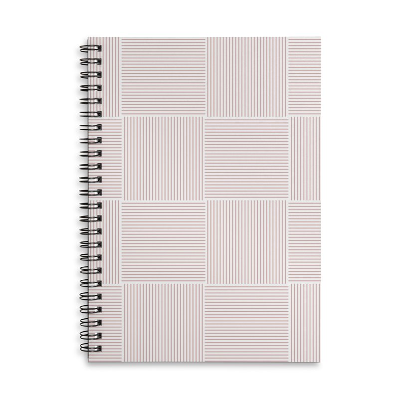 Tekst (Rose) Accessories Notebook by trebam