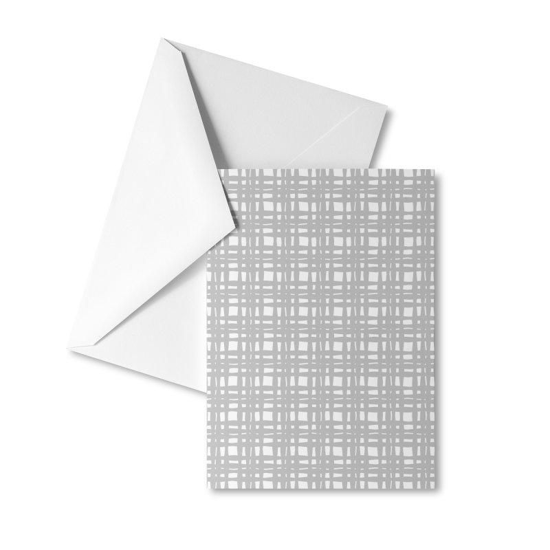 Kariran (Gray) Accessories Greeting Card by trebam