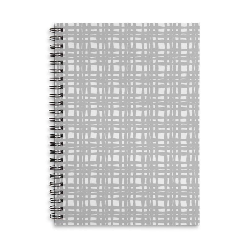 Kariran (Gray) Accessories Notebook by trebam