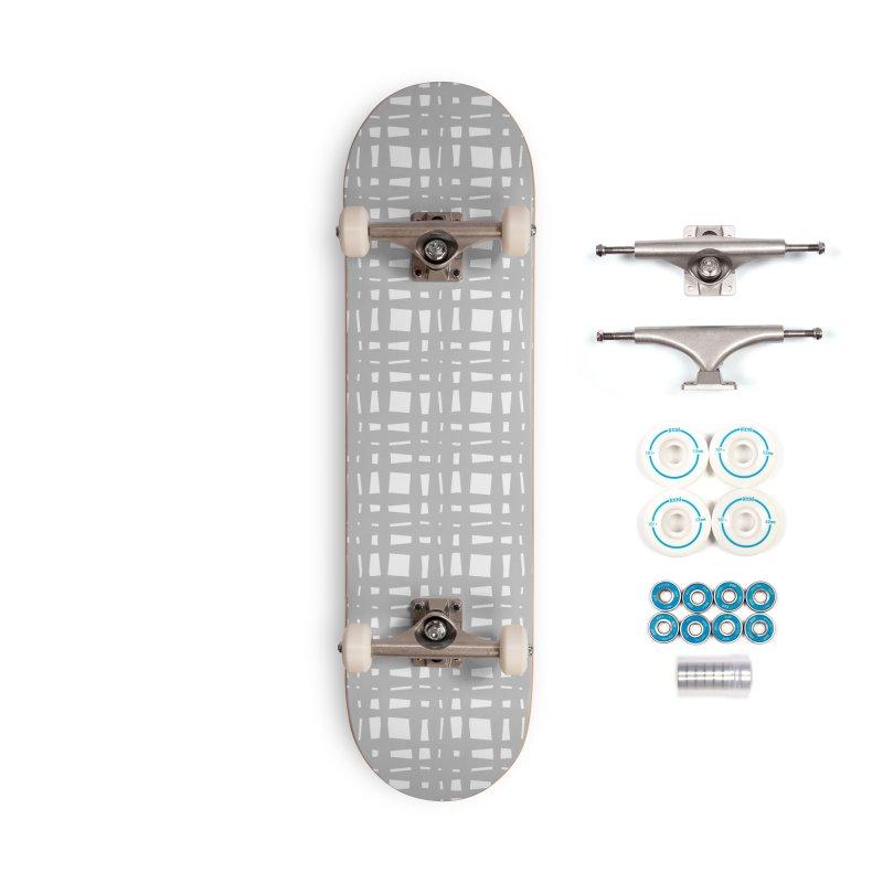 Kariran (Gray) Accessories Skateboard by trebam