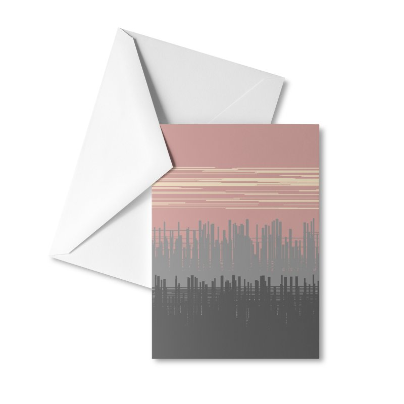 Oblak Accessories Greeting Card by trebam