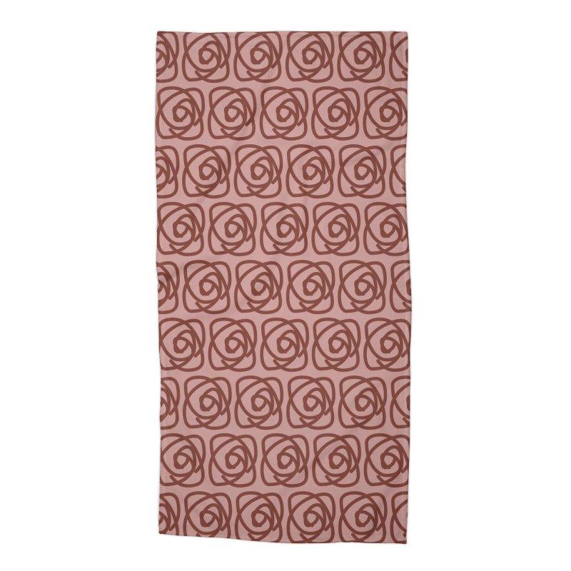 Rozeta (Henna/Rose) Accessories Beach Towel by trebam