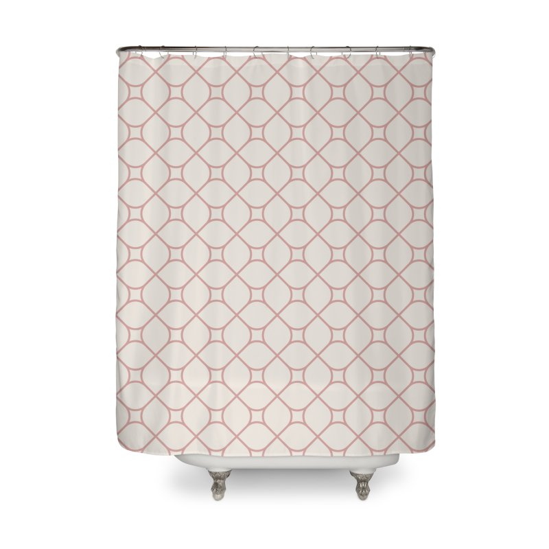 Torba (Rose) Home Shower Curtain by trebam