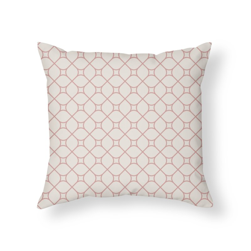 Torba (Rose) Home Throw Pillow by trebam