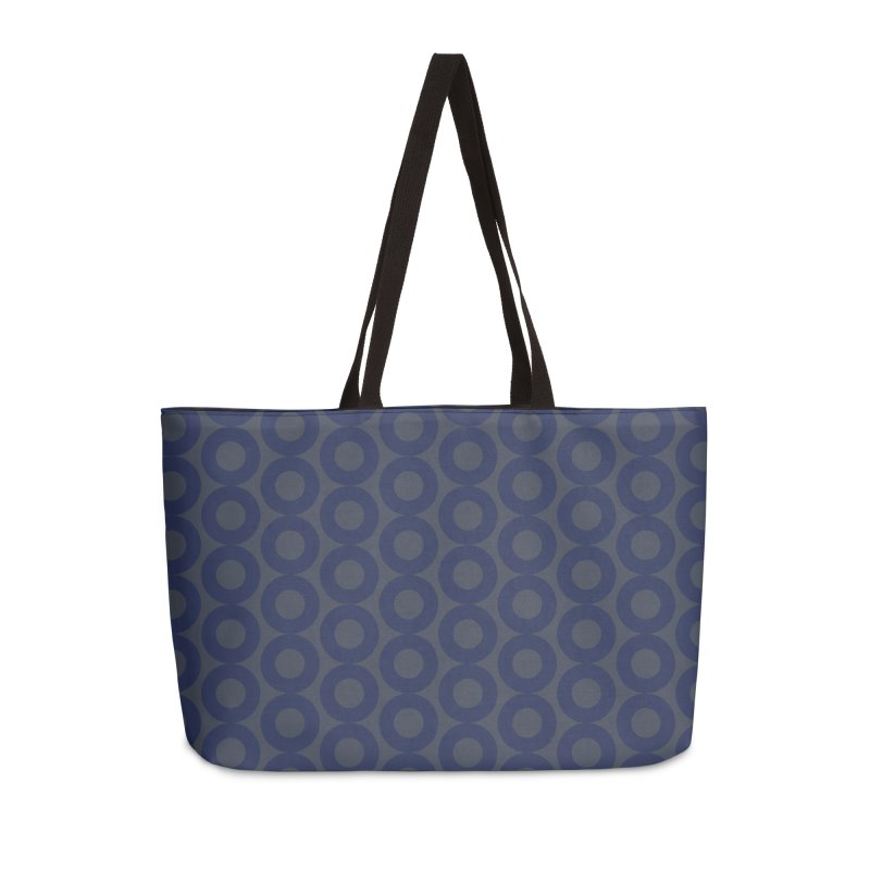 Runda (Blues) Accessories Bag by trebam