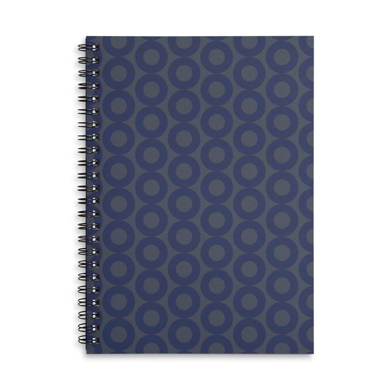 Runda (Blues) Accessories Notebook by trebam