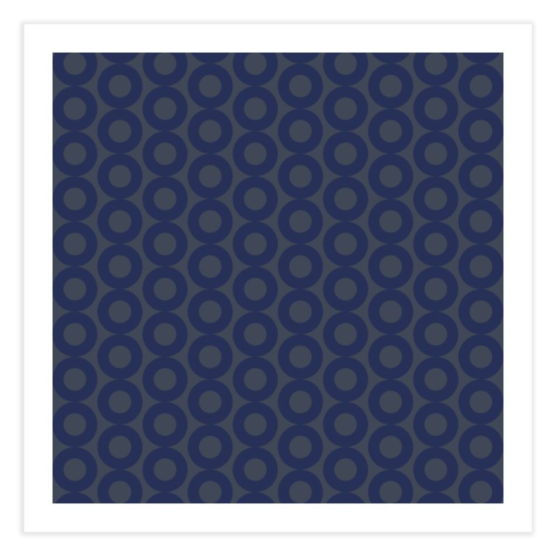 Runda (Blues) Home Fine Art Print by trebam