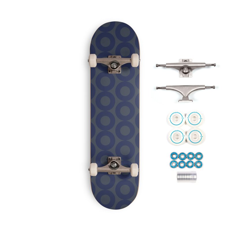 Runda (Blues) Accessories Skateboard by trebam
