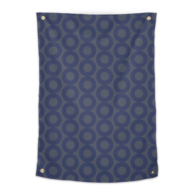 Runda (Blues) Home Tapestry by trebam