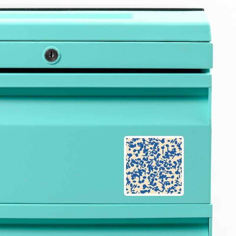 Koraljni (Blue/Almond) Accessories Magnet by trebam