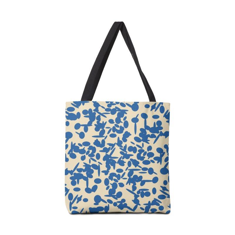 Koraljni (Blue/Almond) Accessories Bag by trebam