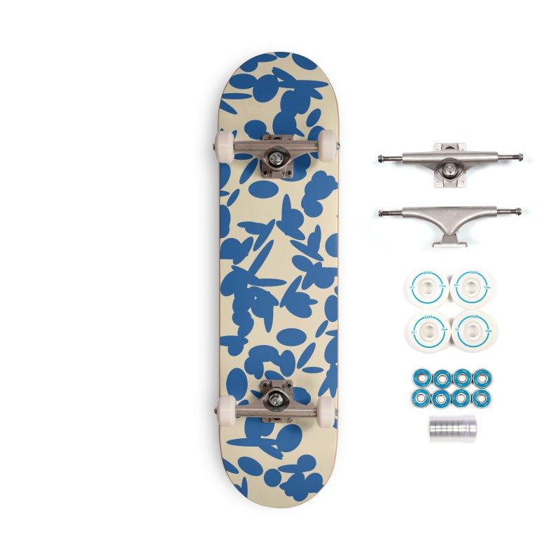 Koraljni (Blue/Almond) Accessories Skateboard by trebam