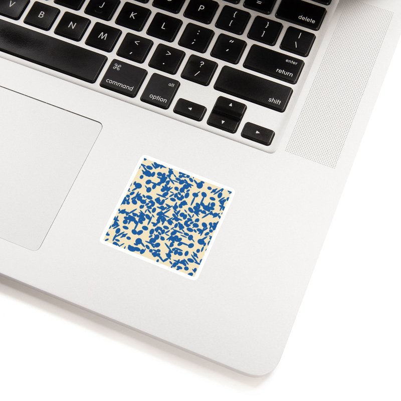 Koraljni (Blue/Almond) Accessories Sticker by trebam