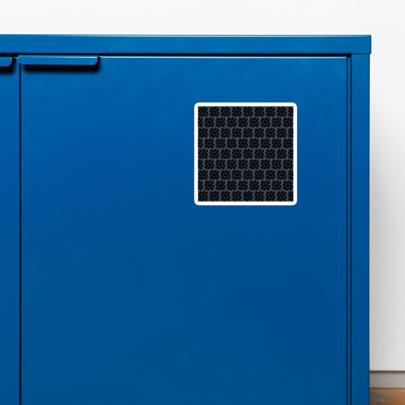 Redaka (Black/Blue) Accessories Magnet by trebam