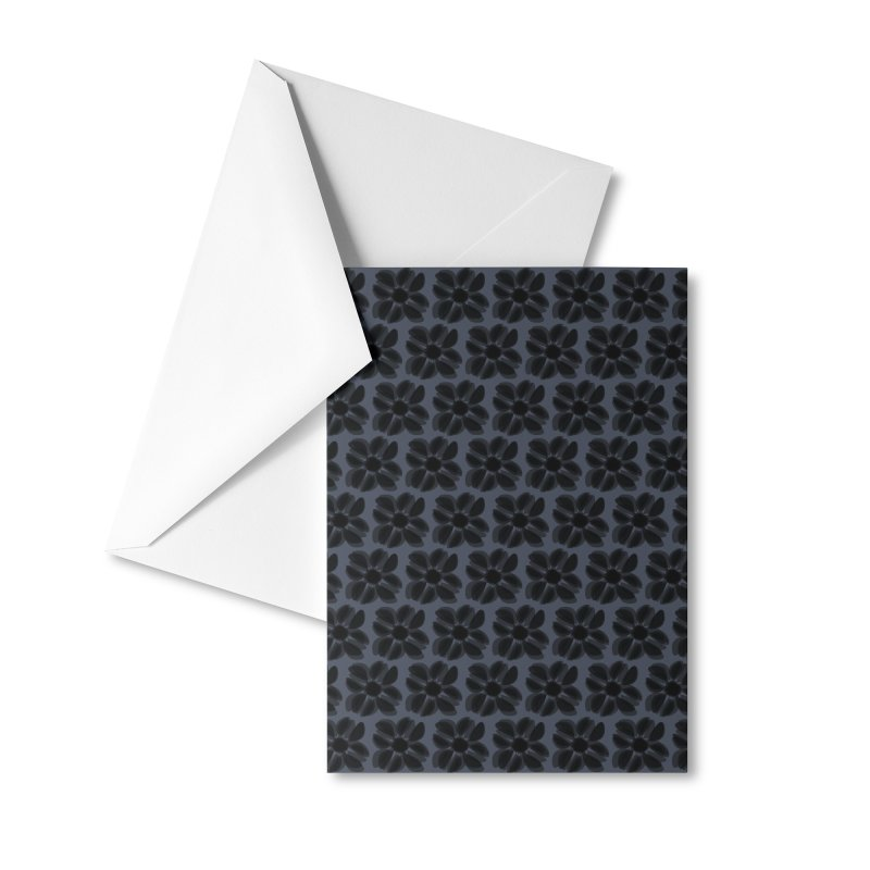 Redaka (Black/Blue) Accessories Greeting Card by trebam