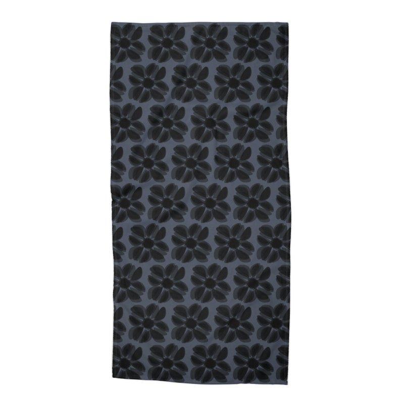 Redaka (Black/Blue) Accessories Beach Towel by trebam