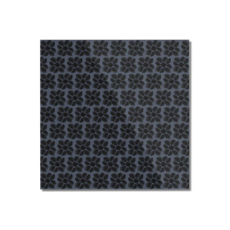 Redaka (Black/Blue) Home Mounted Acrylic Print by trebam