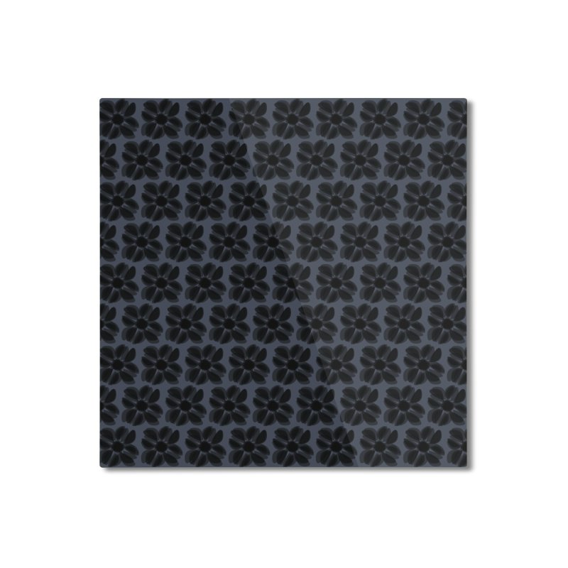 Redaka (Black/Blue) Home Mounted Aluminum Print by trebam