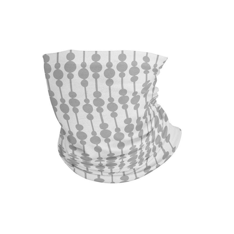 Perle (Gray/White) Accessories Neck Gaiter by trebam