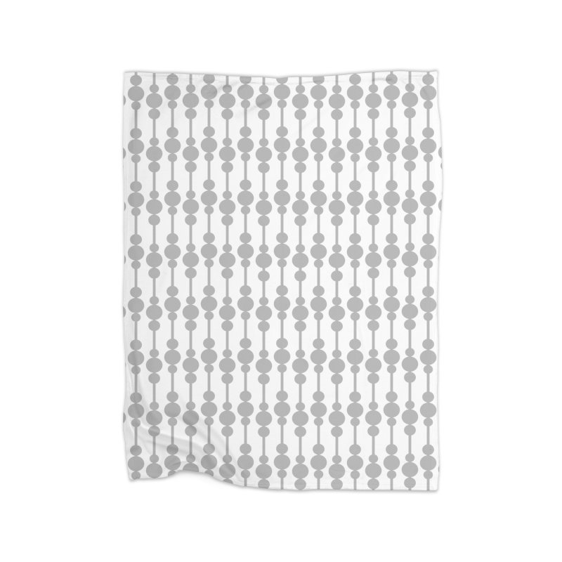 Perle (Gray/White) Home Blanket by trebam