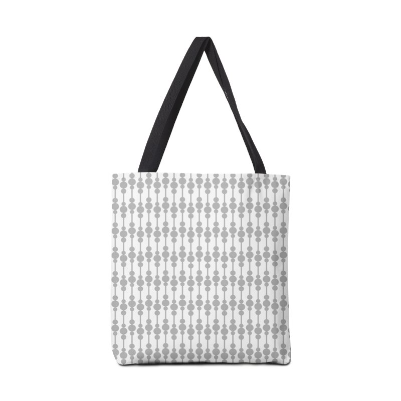Perle (Gray/White) Accessories Bag by trebam
