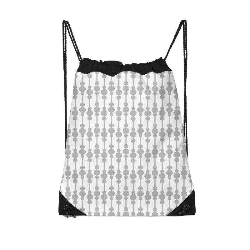 Perle (Gray/White) Accessories Bag by trebam