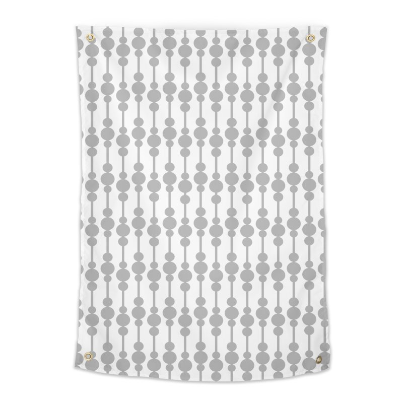 Perle (Gray/White) Home Tapestry by trebam