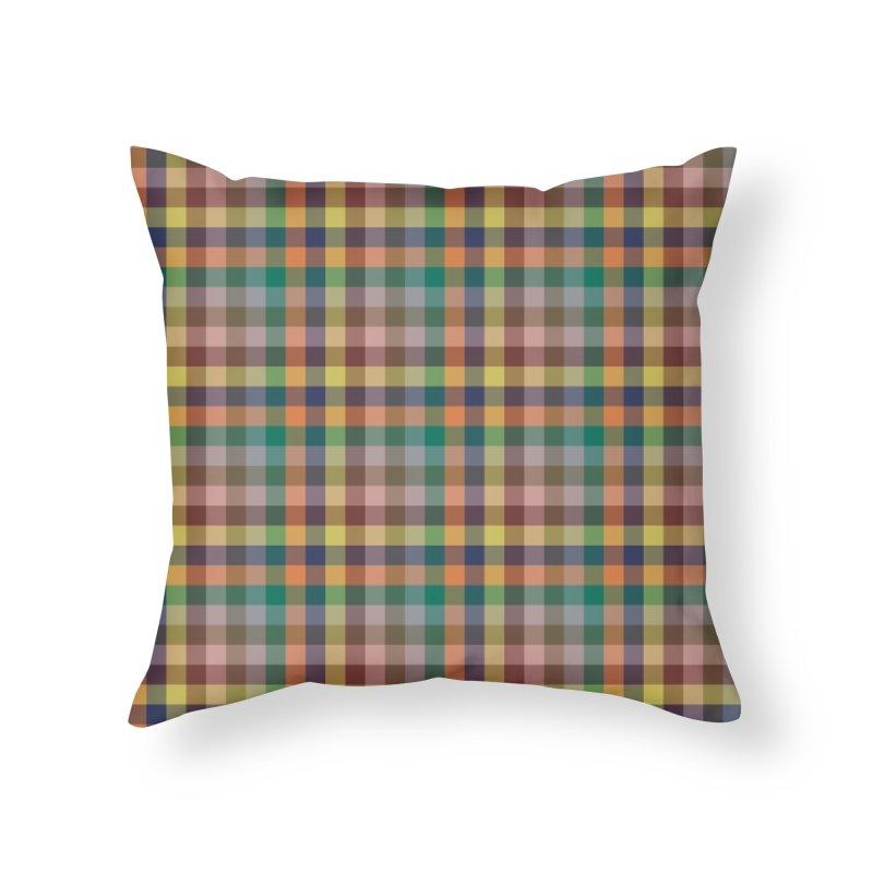 Boje Home Throw Pillow by trebam
