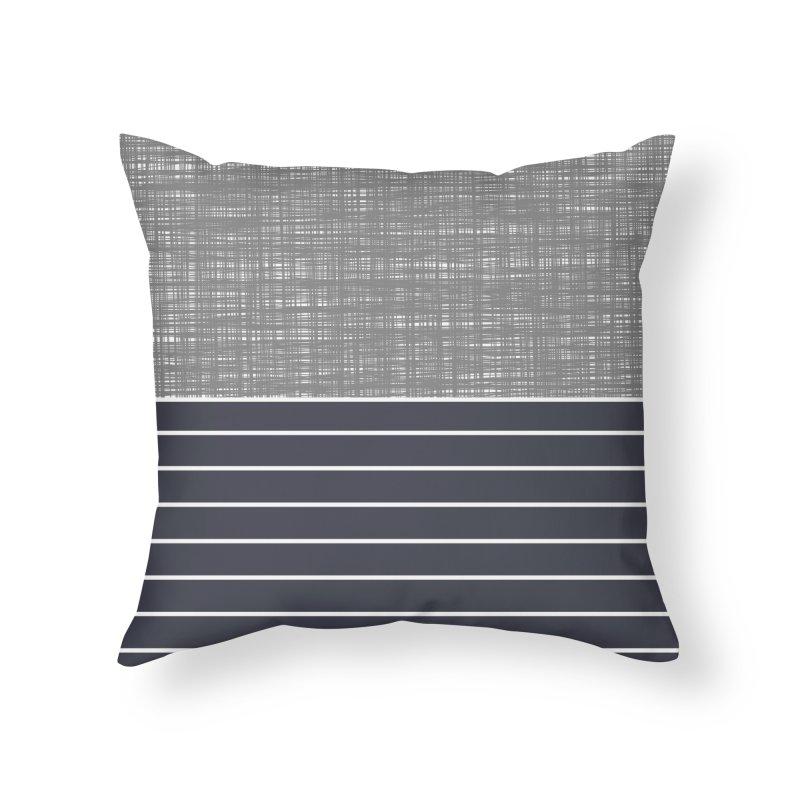 Odvojen (Gray) Home Throw Pillow by trebam