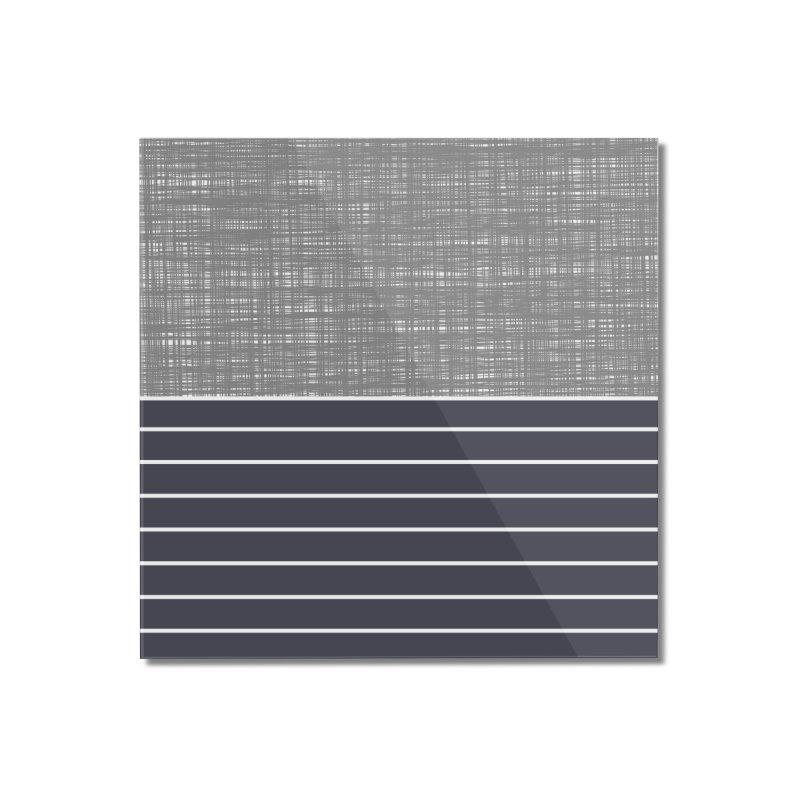 Odvojen (Gray) Home Mounted Acrylic Print by trebam