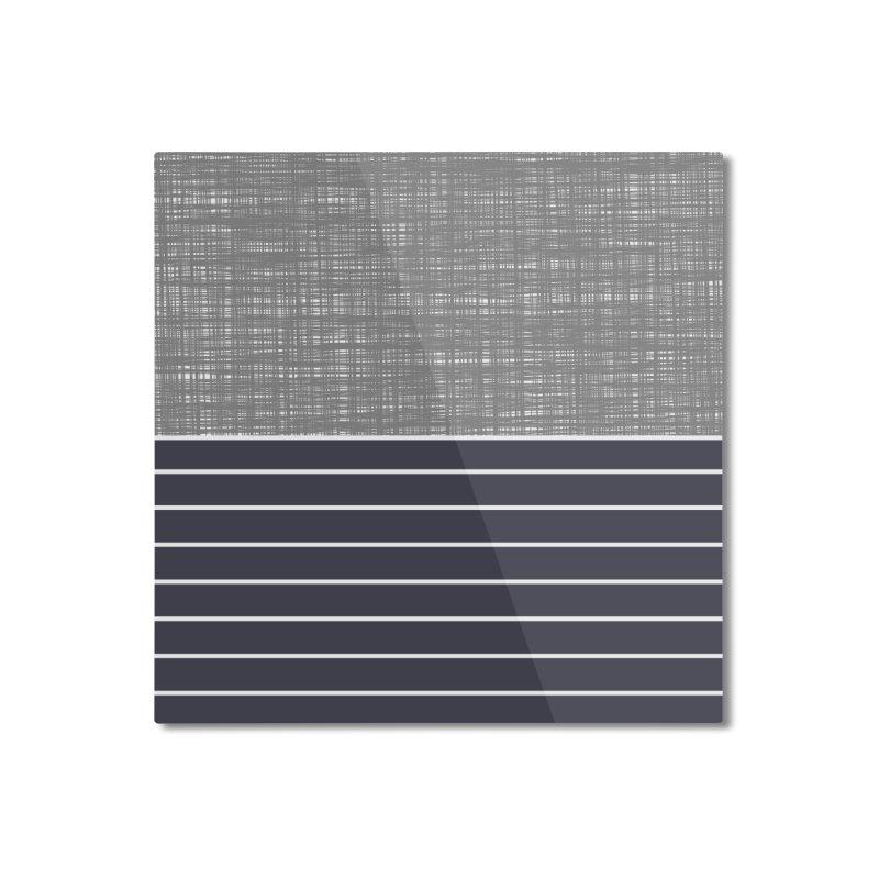 Odvojen (Gray) Home Mounted Aluminum Print by trebam