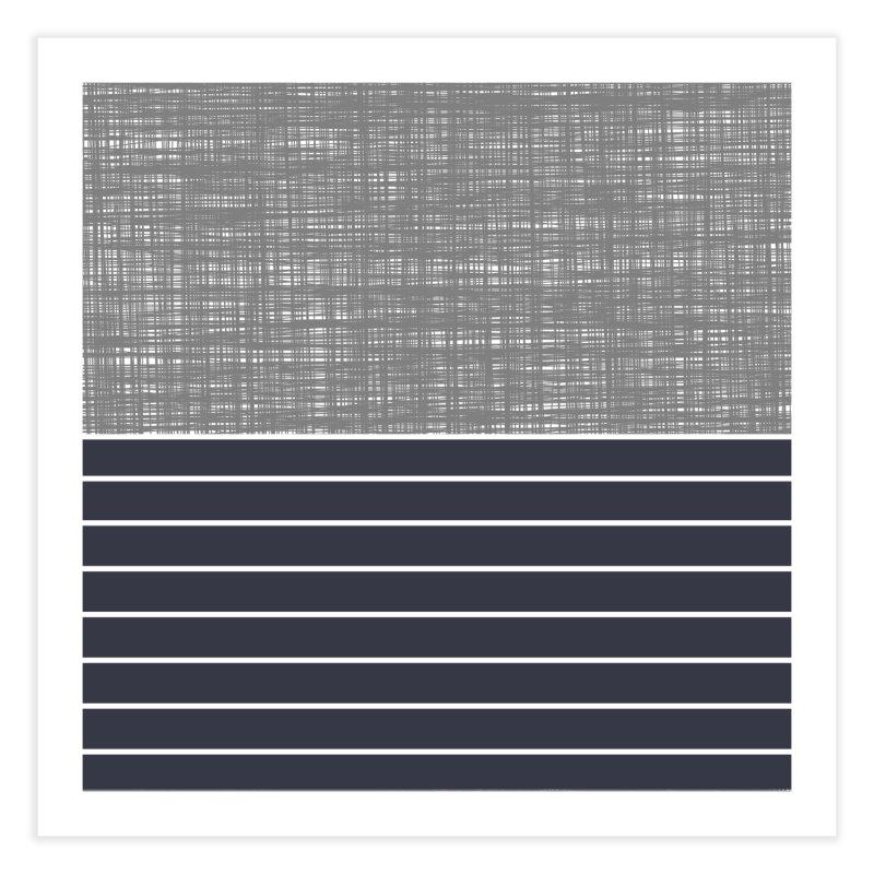 Odvojen (Gray) Home Fine Art Print by trebam