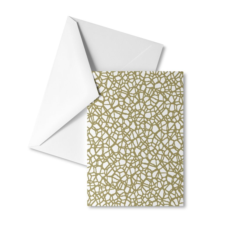 Staklo (Brown) Accessories Greeting Card by trebam