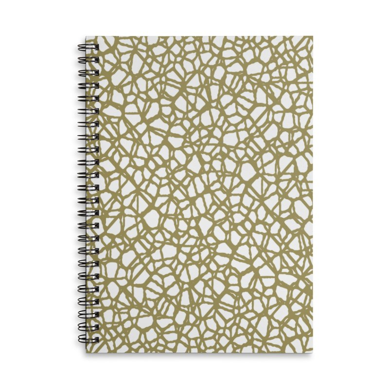 Staklo (Brown) Accessories Notebook by trebam