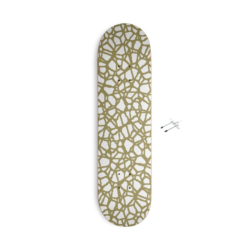 Staklo (Brown) Accessories Skateboard by trebam