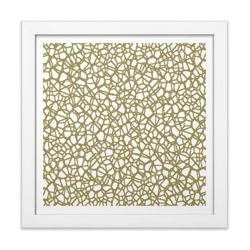Staklo (Brown) Home Framed Fine Art Print by trebam