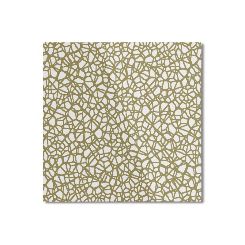 Staklo (Brown) Home Mounted Aluminum Print by trebam