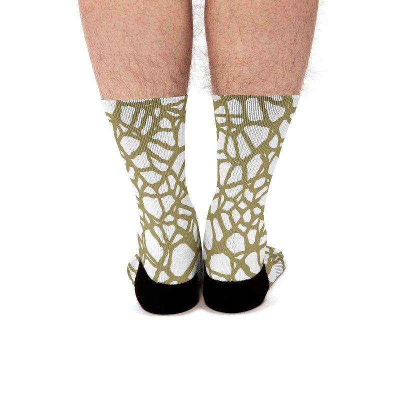Staklo (Brown) Men's Socks by trebam