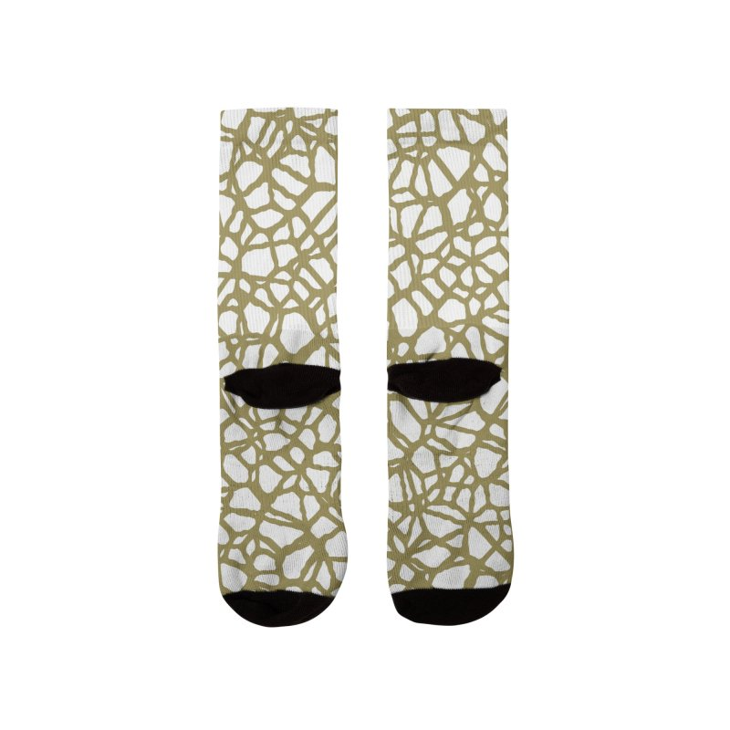 Staklo (Brown) Women's Socks by trebam