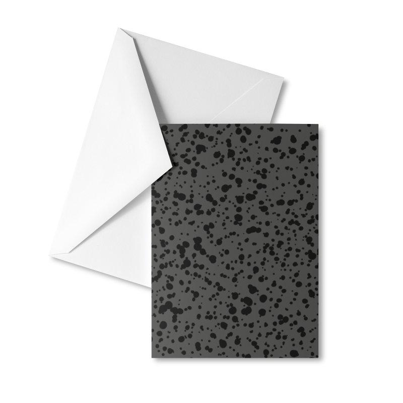 Curiti (Black/Gray) Accessories Greeting Card by trebam