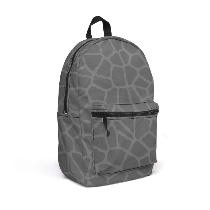 Staklo (Gray on Gray) Accessories Bag by trebam