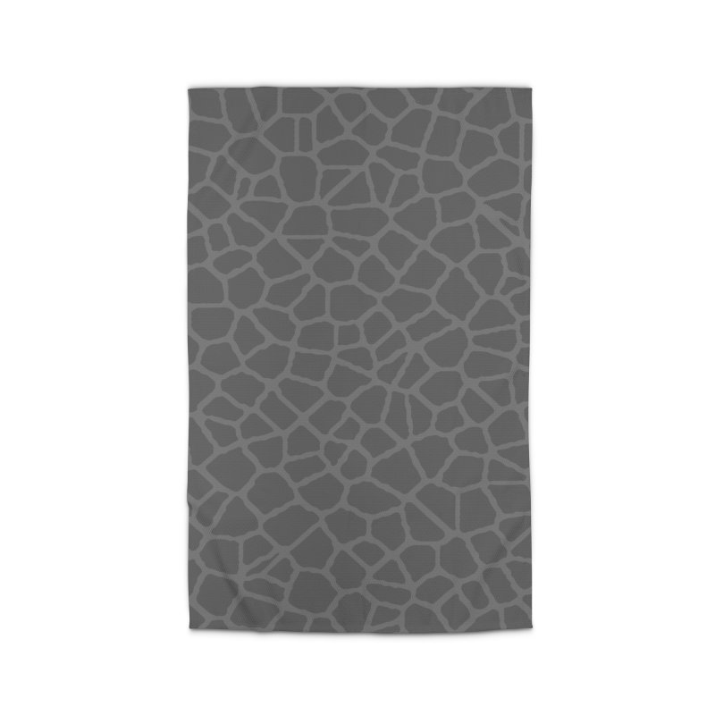 Staklo (Gray on Gray) Home Rug by trebam
