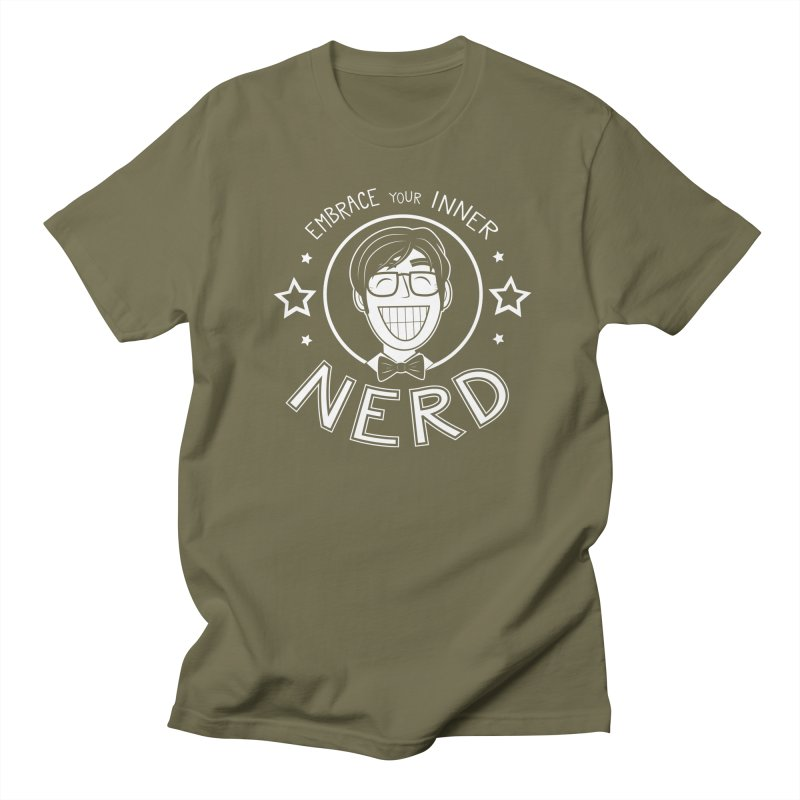 Nerd Guy Men's Regular T-Shirt by Treemanjake