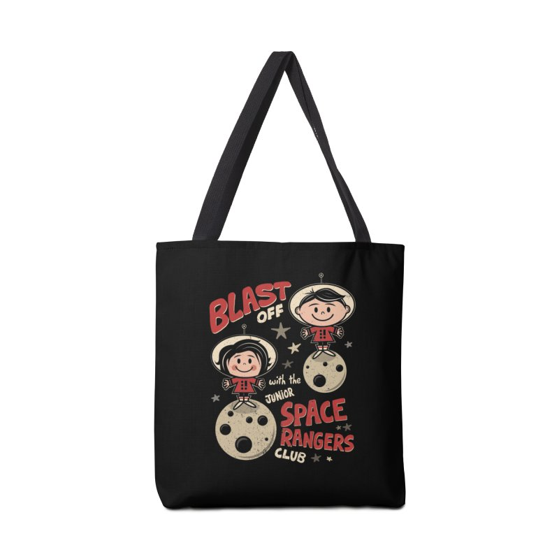 Space Rangers Club Accessories Tote Bag Bag by Treemanjake