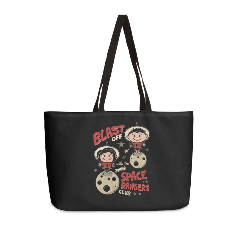 Space Rangers Club Accessories Weekender Bag Bag by Treemanjake