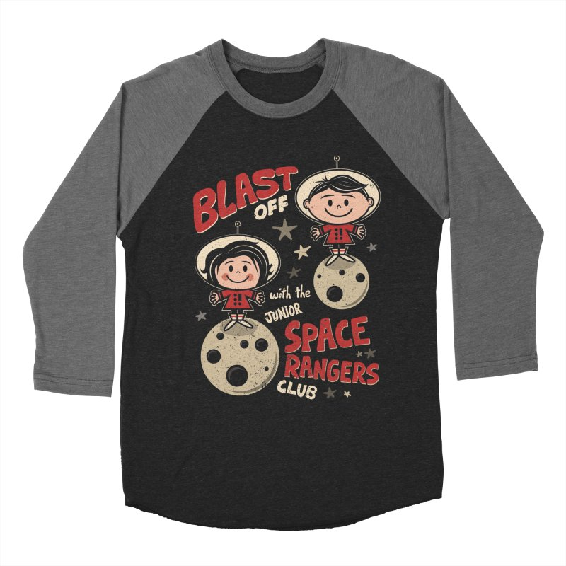 Space Rangers Club Men's Baseball Triblend Longsleeve T-Shirt by Treemanjake