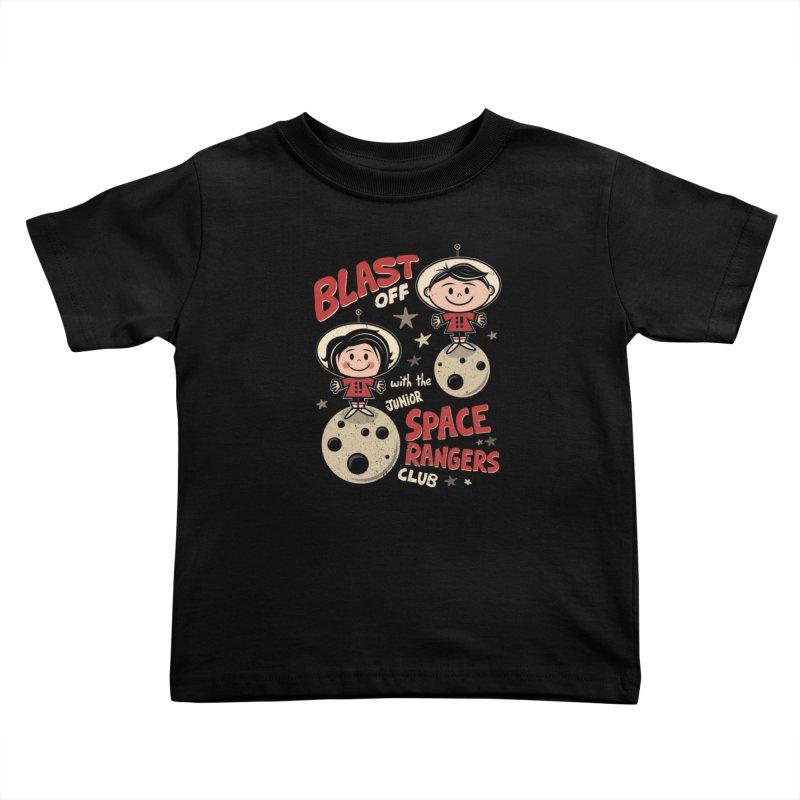 Space Rangers Club Kids Toddler T-Shirt by Treemanjake