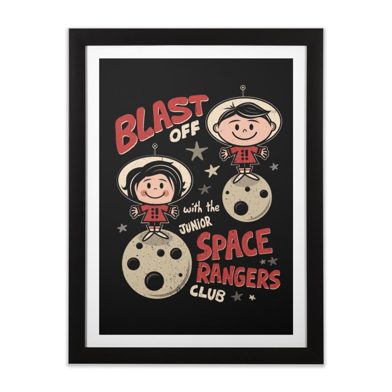 Space Rangers Club Home Framed Fine Art Print by Treemanjake