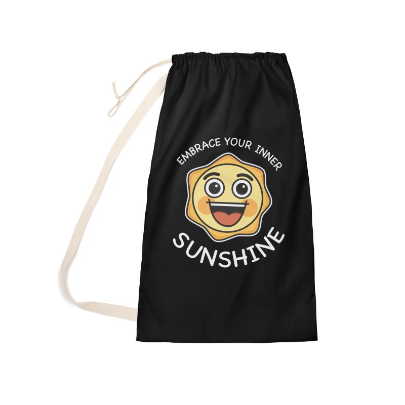 Embrace your Inner Sunshine Accessories Laundry Bag Bag by Treemanjake
